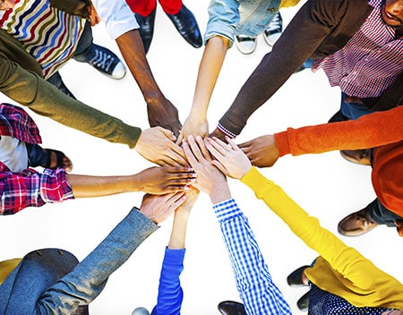 Group of Diverse Multiethnic People
